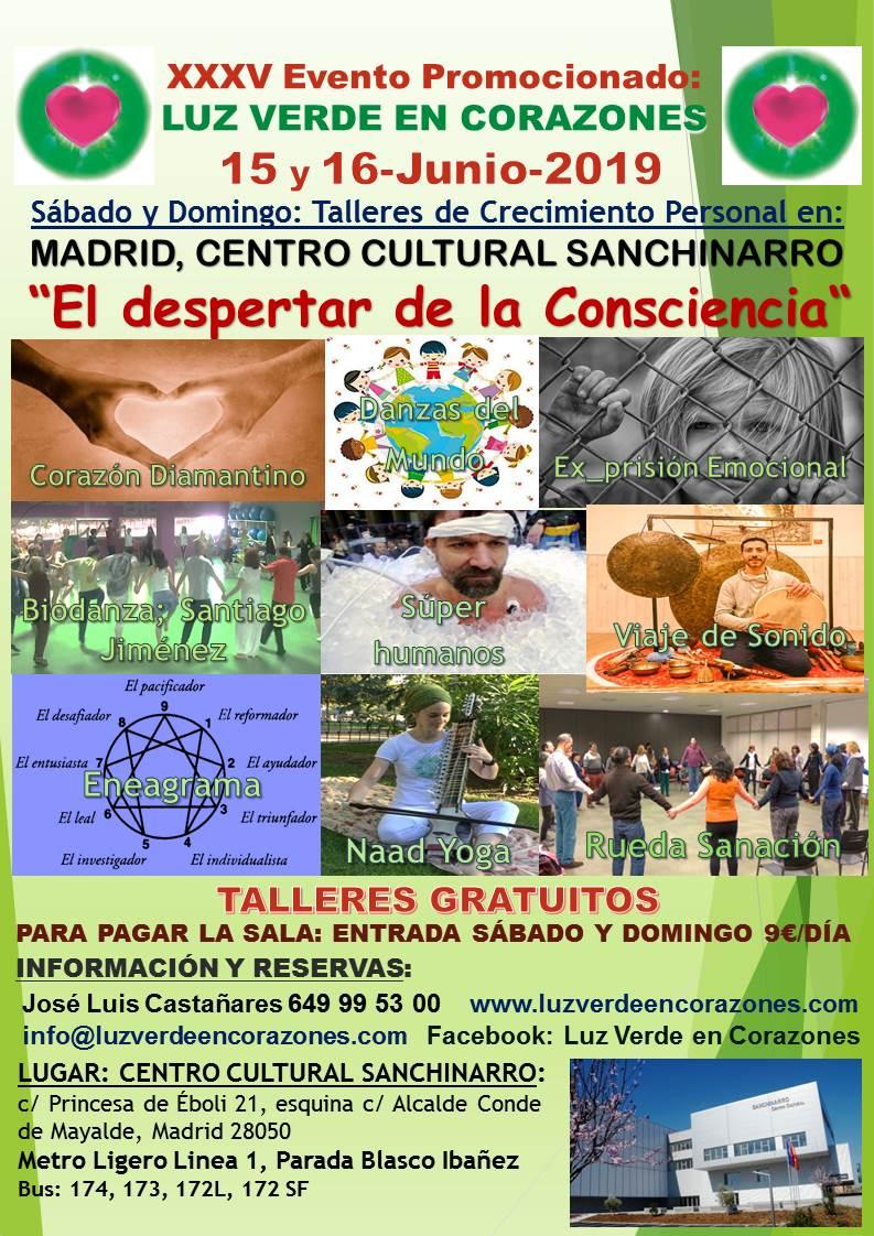 34º Evento Madrid Junio 2019