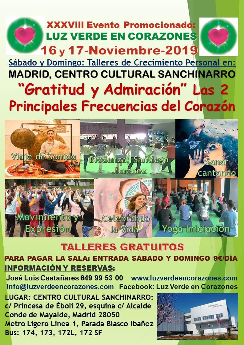 Evento Bilbao Octubre 2019