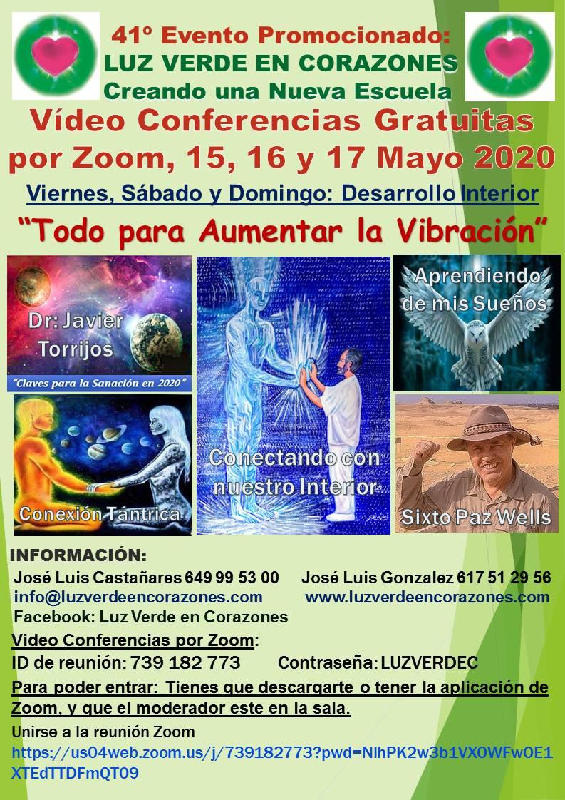 Evento Zoom Mayo 2020